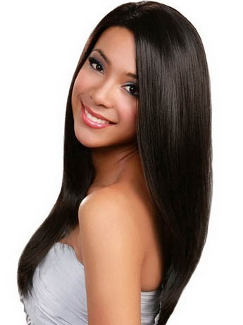 Good Looking Synthetic Straight Lace Front Wig