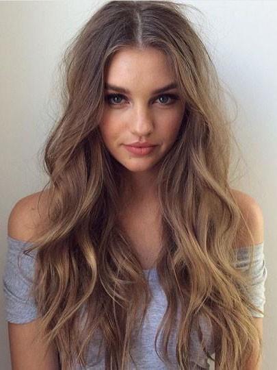 Human Hair Wavy Wig