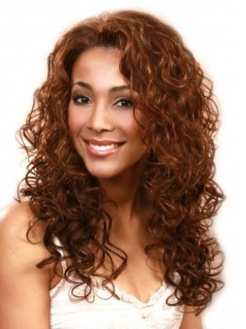 Dazzling Curly Lace Front African American Remy Human Hair Wig