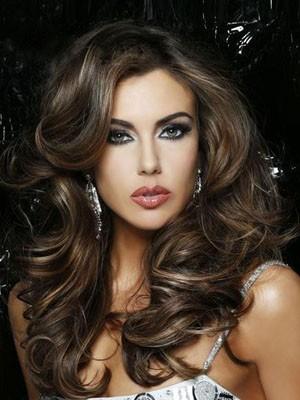 Natural Capless Human Hair Wavy Wig