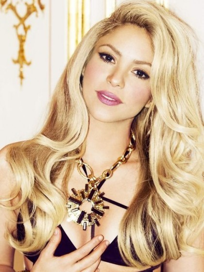 Elaborately Wavy Lace Front Synthetic Wig