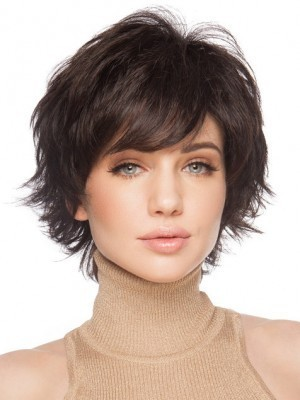 Remy Human Hair Good Looking Straight Capless Wig