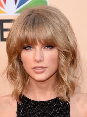 Taylor Swift Fabulous Capless Wavy Synthetic Wig
