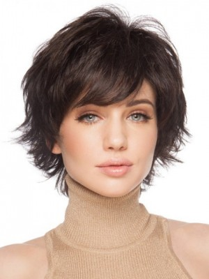 Good Looking Remy Human Hair Straight Capless Wig