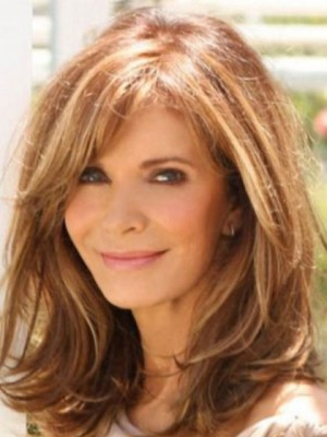 Graceful Remy Human Hair Wavy Lace Front Wig