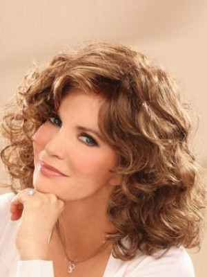 Comfortable Waves Lace Front Wig For Woman