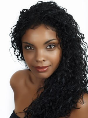 Fashion Lace Front Curly Synthetic Wig