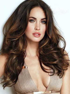Stunning Long Synthetic Lace Front Wavy Wig