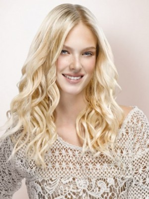 Popular Lace Front Wavy Synthetic Wig