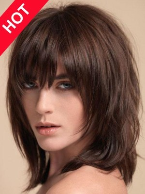 High Quality Shoulder Length Straight Wig