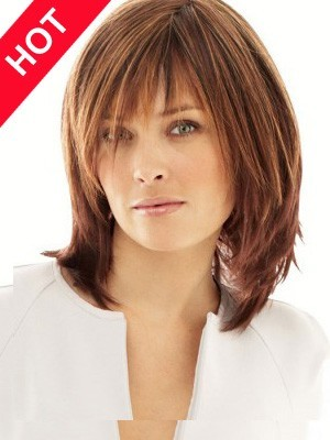 Cheap Synthetic Chemotherapy Shoulder Length Wig
