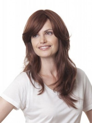 Striking Capless Wavy Synthetic Wig