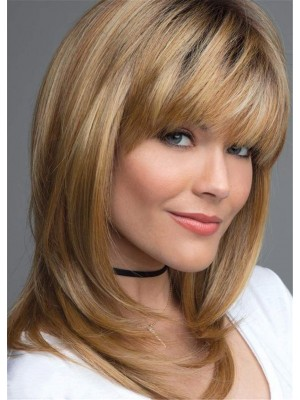 Glamorous Layered Synthetic Capless Wig