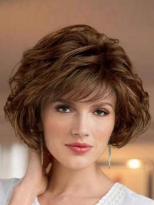 2019 New Style Wavy Look With Textured Synthetic Wig