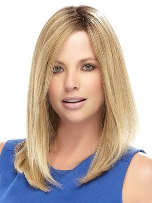 Romantic Straight Lace Front Synthetic Wig